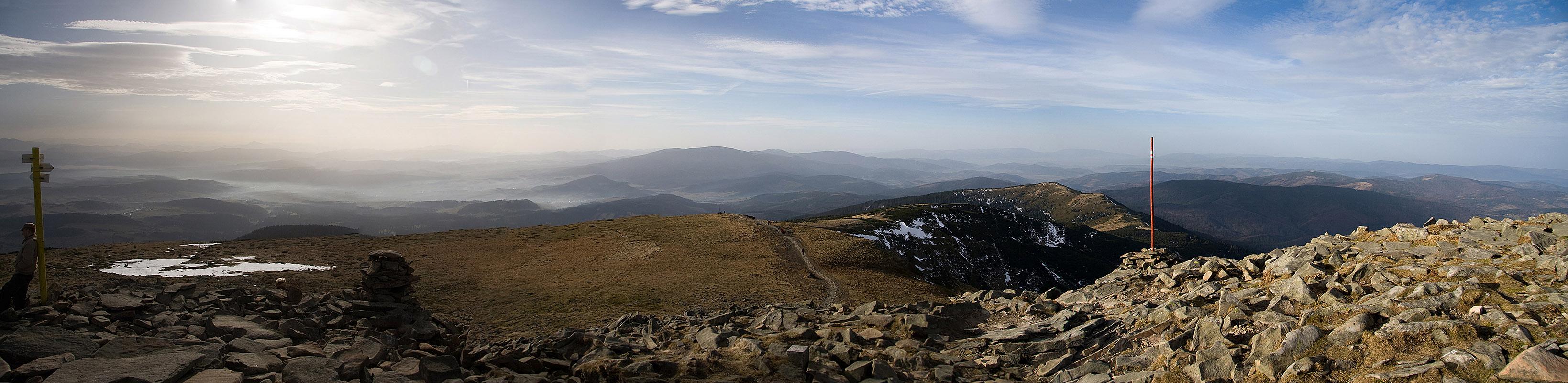 Panorama na zachód