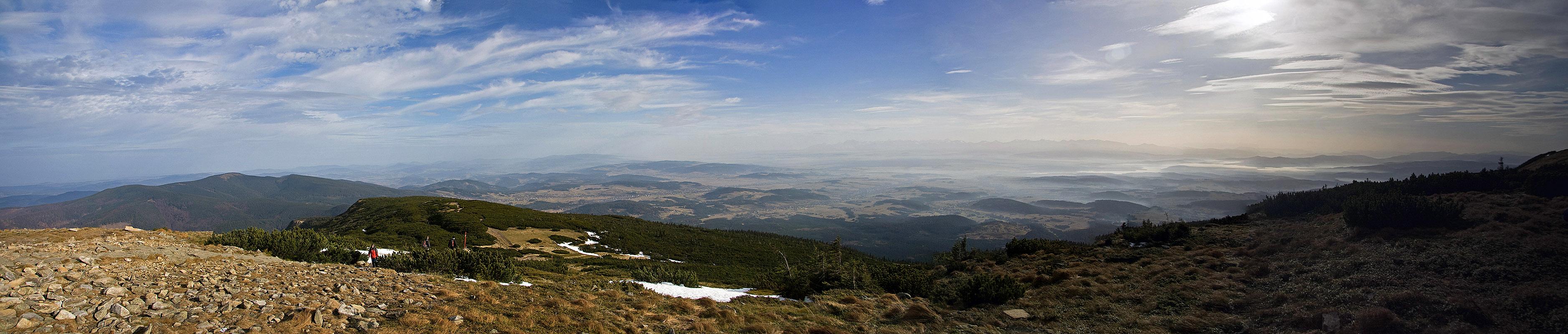 Panorama na wschód
